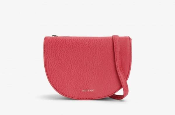 Matt & Nat saddle bag, $134. This Canadian brand doesn't use any leather, and its bags are all lined with recycled ...