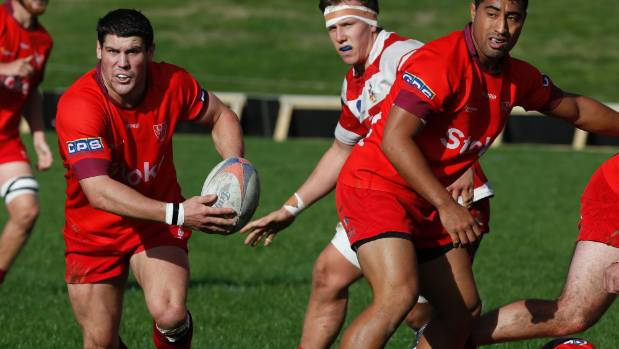 Stoke halfback Sam Parkes in action during Monday's clash with Waimea Old Boys at Nayland College.