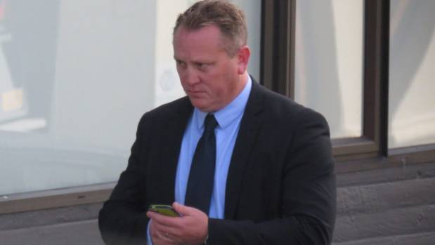 Jeremy Buis leaves court after his trial.