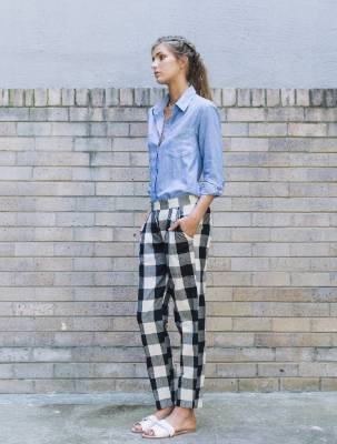 Carlie Ballard traveller pants, $108. I spotted these on Well Made Clothes, a site that organises its stock by the ...