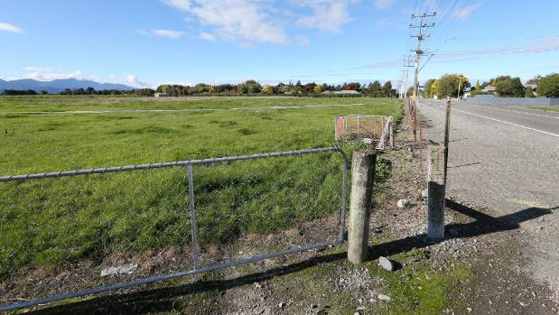The site of the Rose Manor subdivision on Old Renwick Rd, Blenheim.