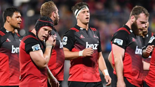 Quinten Strange, centre, made his Super Rugby debut against the Sunwolves on Friday night.