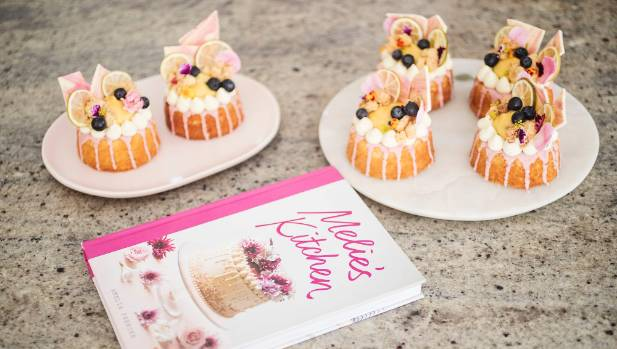 Ferrier was inspired to start her cake making business after her friends at school started inquiring about ordering the ...