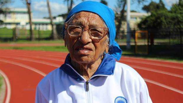 Man Kaur, at 101 years old, will compete in the 100m, 200m, shot put, and javelin at the World Masters Games in Auckland.