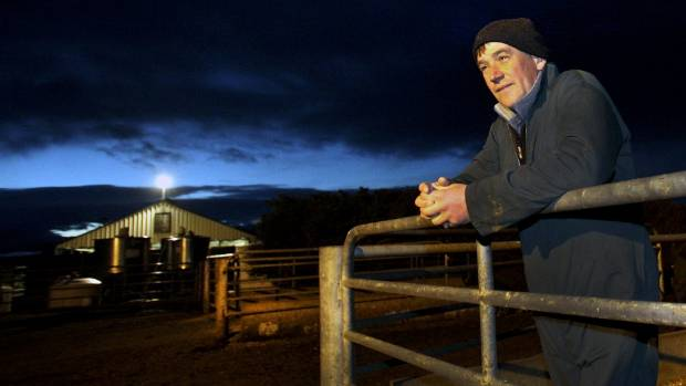 Dairy farmer James Stewart starts the day early on his Hiwinui dairy farm. He is feeling more positive after the lift in ...