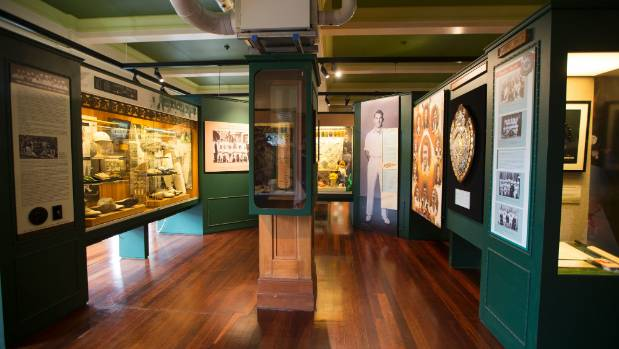 The New Zealand Cricket Museum is homed in the Museum Stand.