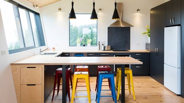 How to spruce up your kitchen cabinets on the cheap stuff stools add splashes of colour to the compact kitchen and dining room solutioingenieria Gallery