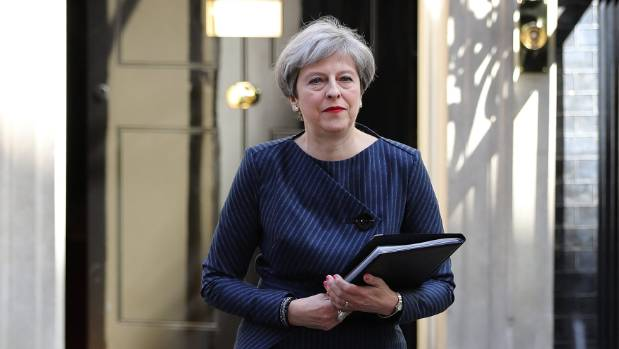 May wins Parliament vote to hold snap elections on June 8