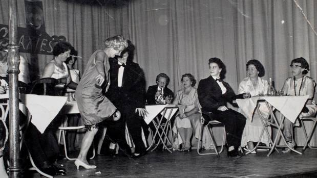 A Longburn institute cabaret night, 1960s.