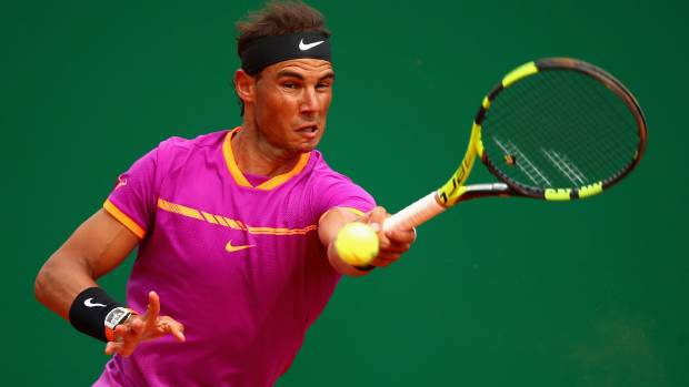 Rafael Nadal is in to the third round of the Monte Carlo Masters.