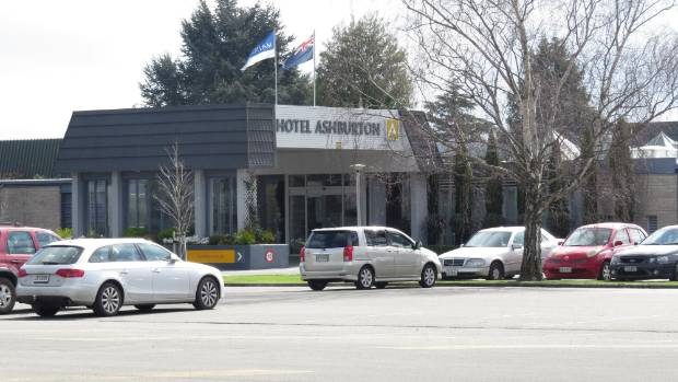 Roake robbed The Hotel Ashburton in April.