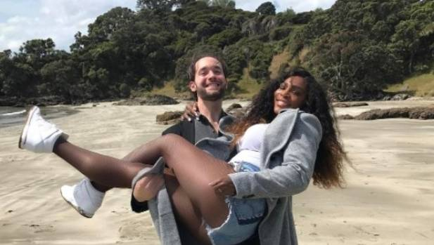 Reddit founder Alexis Ohanian and tennis star Serena Williams shared a post Easter snap