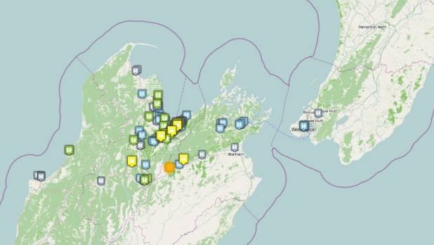 A magnitude 4.6 quake struck near St Arnaud early on Thursday.