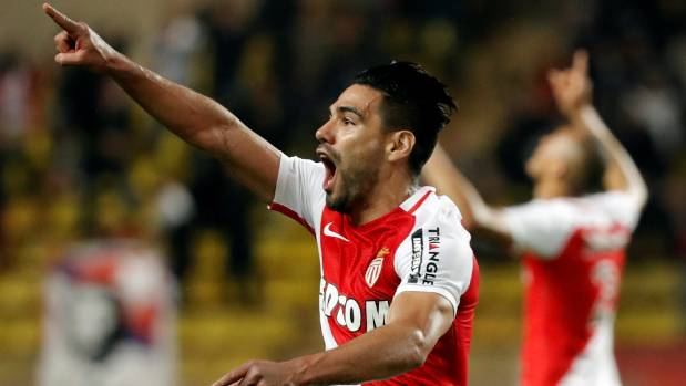 Radamel Falcao starred for Monaco in the second leg of their Champions League quarterfinal tie with Borussia Dortmund.