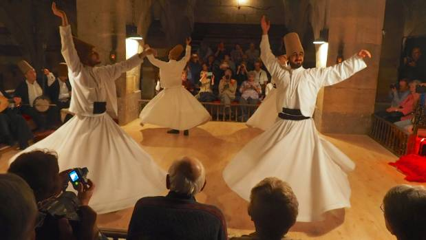 Whirling dervishes are mesmerising.