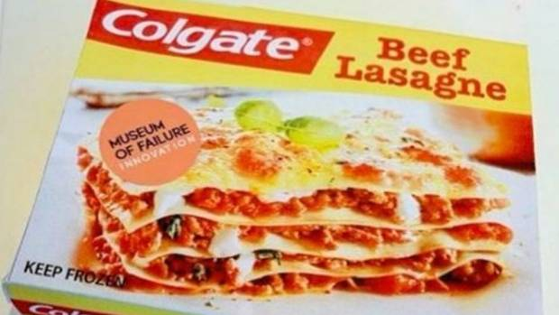 In the 1980s, Colgate hoped its range of frozen dinners would encourage people to eat a branded dinner before brushing ...