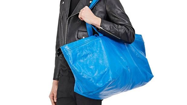 Balenciaga's blue 'Arena Extra-Large Shopper Tote looks very familiar...