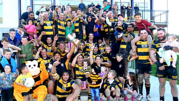 It is celebration time for the triumphant 2014 Waitohi premier rugby team, the last time a Marlborough-based side tasted ...