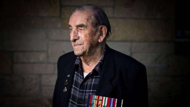 Sergeant Ray Moncur, 97, didn't want to go to war.