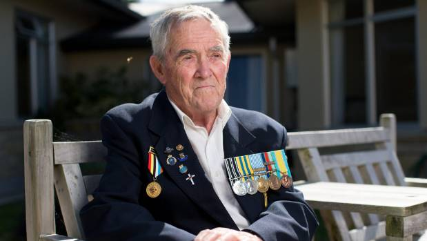 Signalman John Barnett served in the Royal New Zealand Navy in Korea from 1950 to 1953.