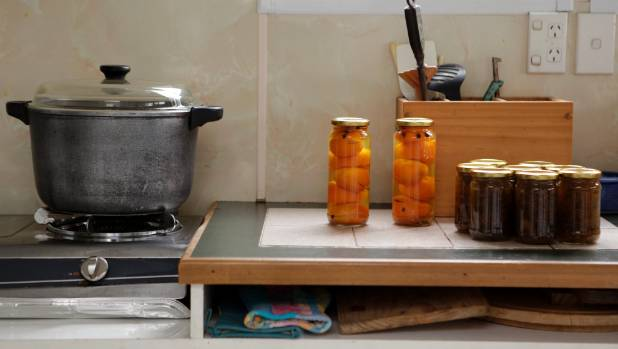 Graeme Duckett's mum had homemade chutneys and preserved fruit that made your mouth water.