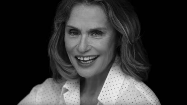 Lauren Hutton is in Calvin Klein's latest underwear ad, but you could blink and miss her.