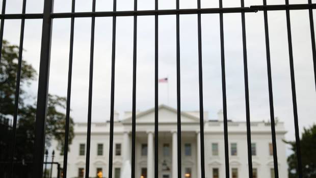 Tourists will still be able to view and photograph the White House.