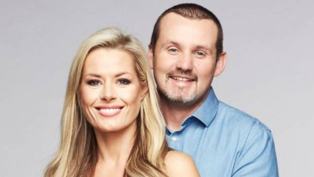 Madeleine West (Dee Bliss) and Ryan Moloney (Toadfish) in Neighbours.