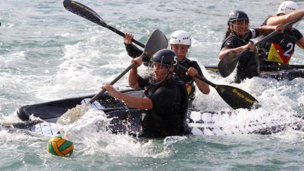 The New Zealand women's canoe polo team won the world championship last year.