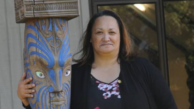 Pania Houkamau-Ngaheu who opened the marae to shelter Porirua people.