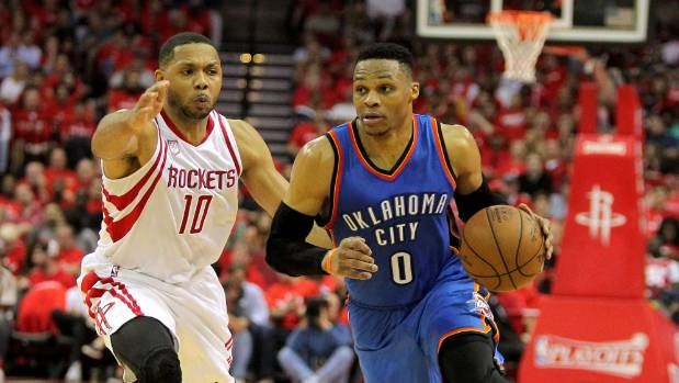 Russell Westbrook had the first ever 50-point triple double in NBA playoff history