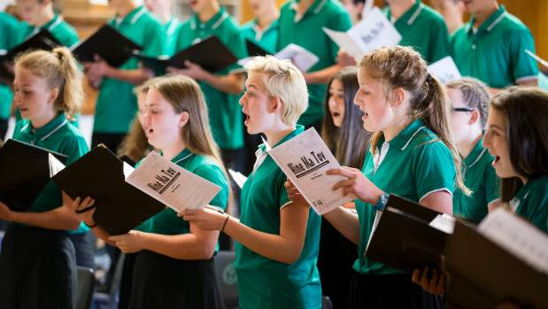 The New Zealand Secondary Students Choir runs a two year cycle of members. The new choir met for the first time this ...