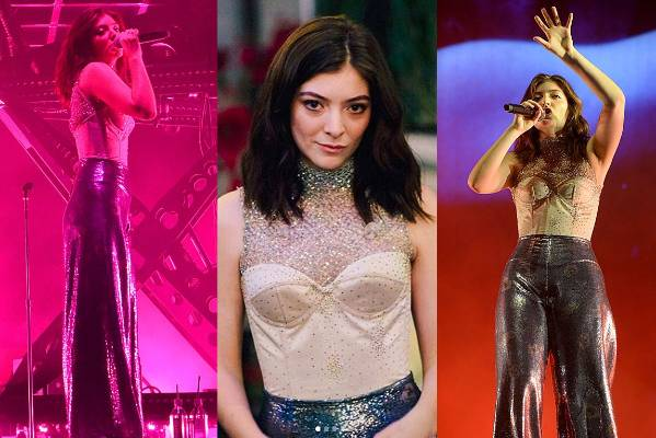 THE GOOD: OK, OK, we normally stick to red carpet looks, and this is officially a stage outfit, but Lorde looks so dang ...