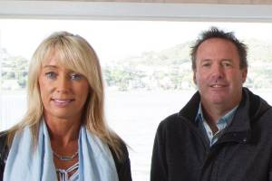 OneNineFive business partners Carlene Staines and Greg Norris sometimes escape to their boat house in Mana for a break, ...