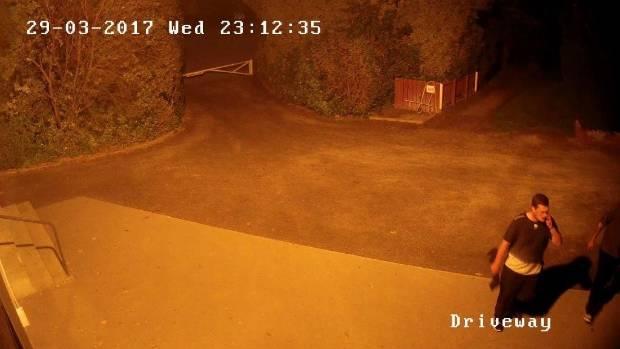 CCTV footage of Tai Tapu Golf Club break-in