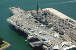 USS Midway was once the world's largest ship.