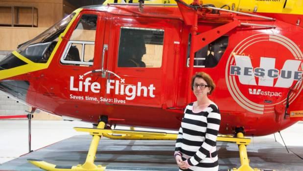 Samara Shaw visits the Life Flight air rescue centre.