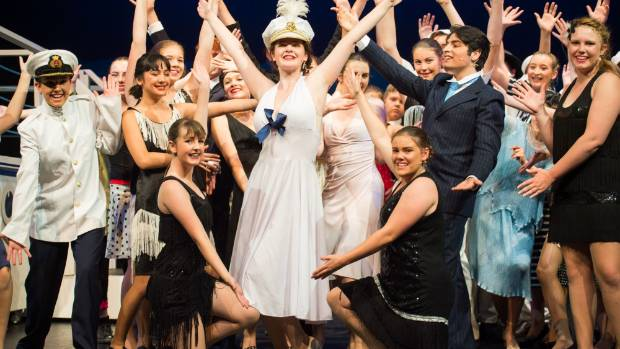 A scene from Anything Goes, Nelson Youth Theatre's latest production.