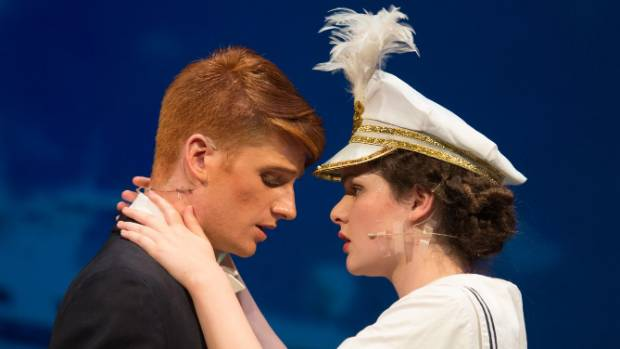 Nelson Youth Theatre actors in a scene from Anything Goes.