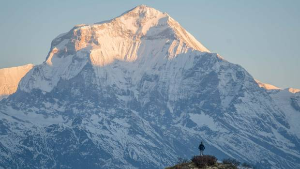 Dhaulagiri, the seventh tallest peak in the world.