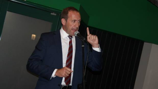 Labour leader Andrew Little promised 100,000 new homes over a decade.