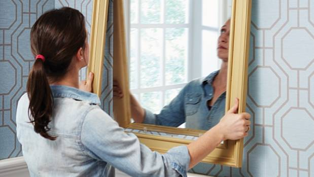 If you're a little bit handy, you can easily make - and hang - your own mirror. It's a great way to amplify the natural ...