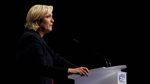 A terror attack may benefit National Front Leader Marine Le Pen in the French presidential election.