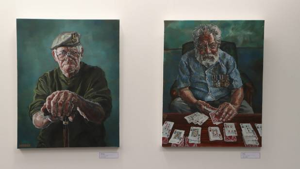 Portraits of real New Zealand veterans by Matt Gauldie take unexpected guises.
