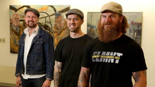 Matt Gauldie,Trev Mills and Tim Wilson are Kiwi veterans and artists.