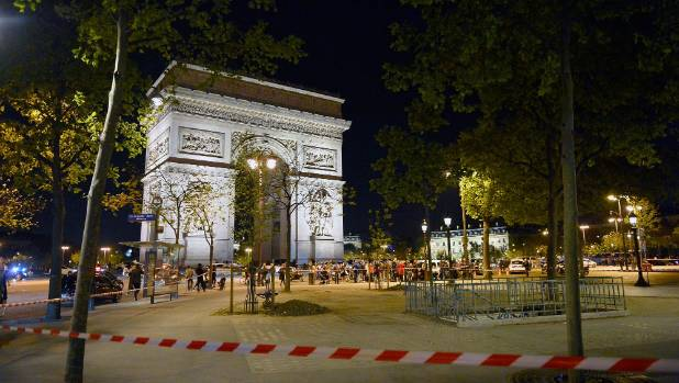 Security was already at a heightened level in Paris, with the first round of France's presidential election taking place ...