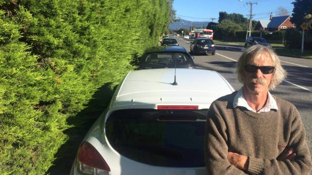 Waikanae Beach hedge owner Vince Osborne remains defiant over the council's plans to cut his giant hedge.