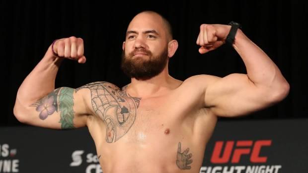 UFC heavyweight Travis Browne.
