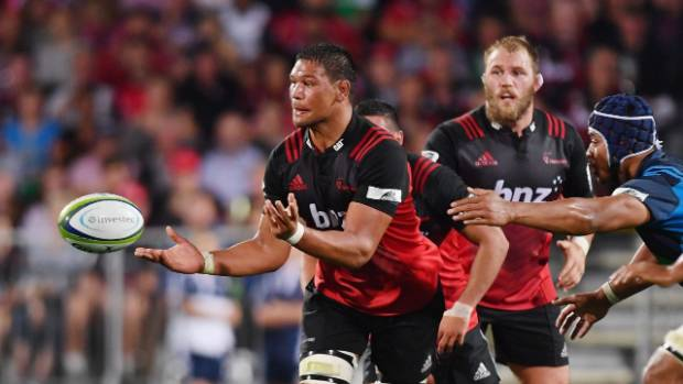 Whetu Douglas is leaving for Treviso after cracking Super Rugby with the Crusaders.