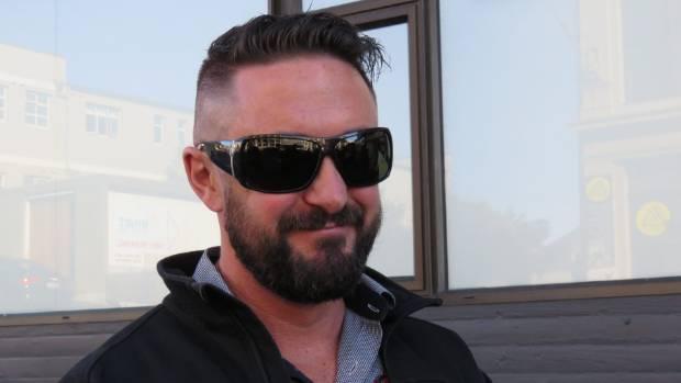 Victim Daniel Pryde outside the Dunedin District Court